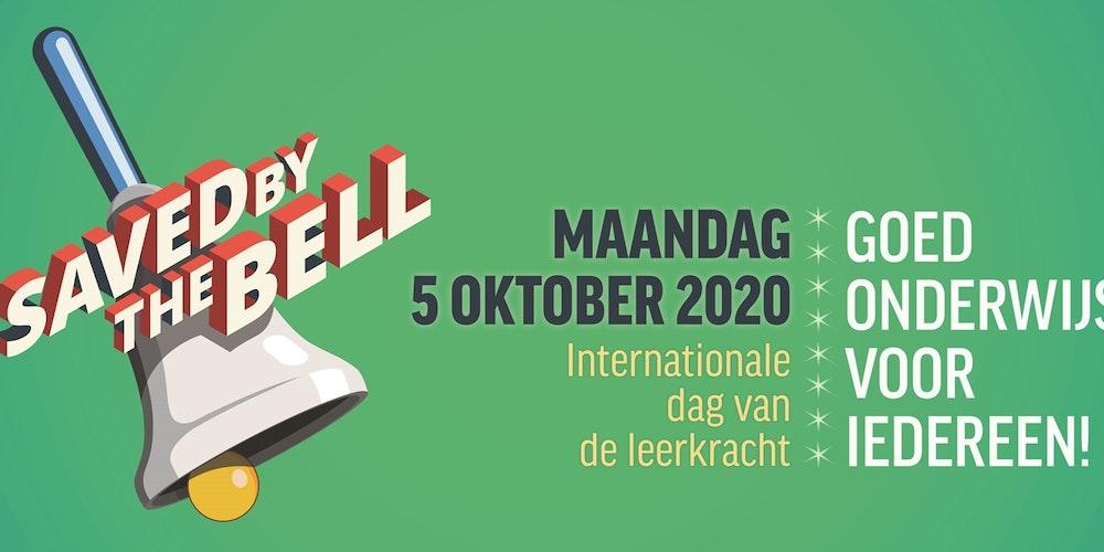 5 oktober: internationale dag van de leraar. Zij maken het verschil!