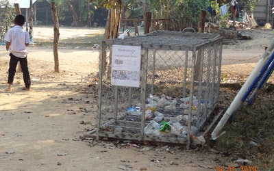 Afval plastiek