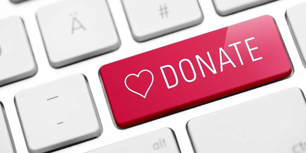 Online donaties